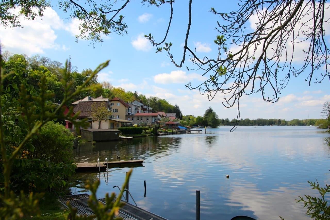Badeinsel Stadtsee Lychen