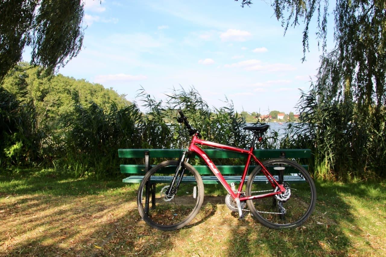Fahrrad in Lychen