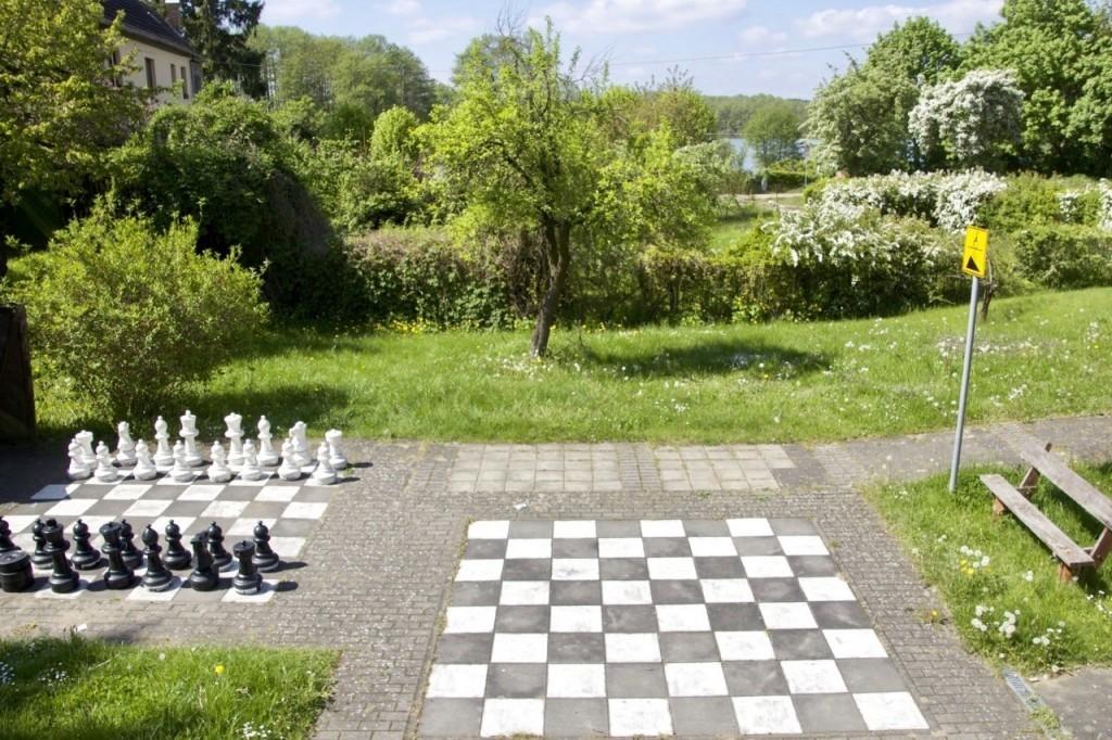Outdoor-Schach Lychen